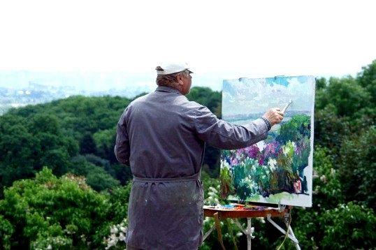 Які бувають види живопису