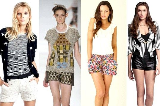 Які кольори й фасони шорт будуть в моді в 2014 році
