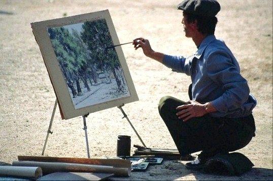 Які є жанри образотворчого мистецтва
