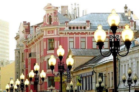 Які найкрасивіші місця в москві