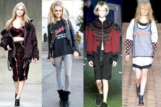 Які стилі одягу були в 90-х рр.