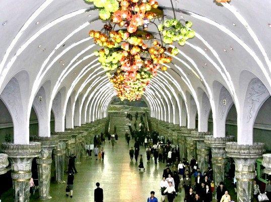 Яке найглибше метро у світі