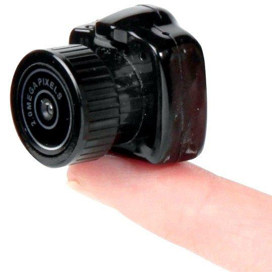 Який фотоапарат найменший у світі