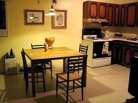 Який підлога буде простіше і дешевше зробити на кухні