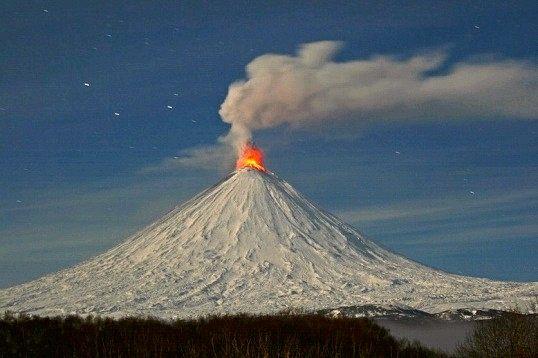 Який найбільший вулкан в росії