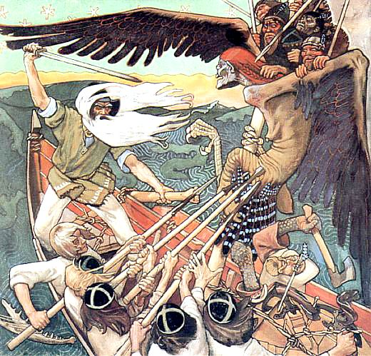 Ким був вайнемейнен у фінській міфології
