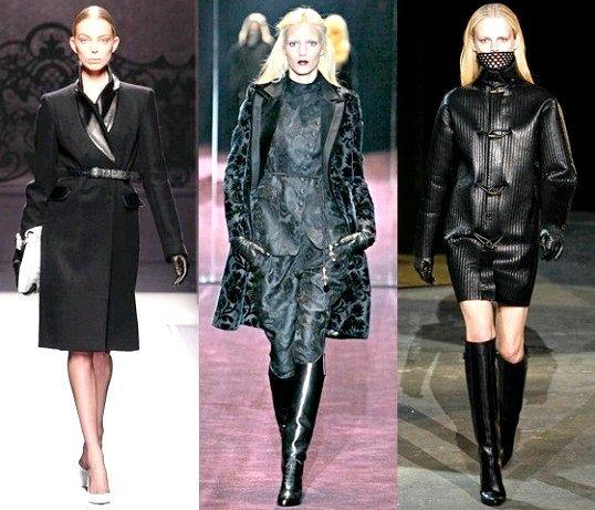 Коли з'явилася мода на чорний колір