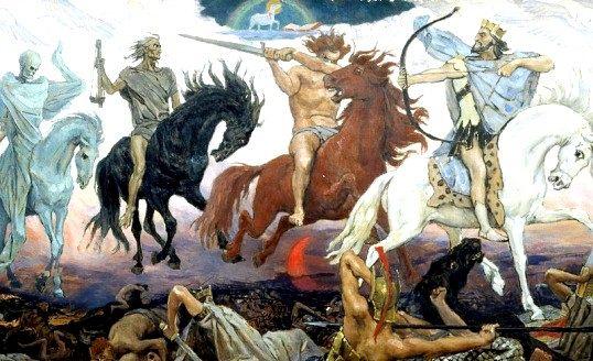Хто такі чотири вершники апокаліпсису