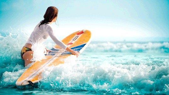 Серфінг і фітнес-туризм