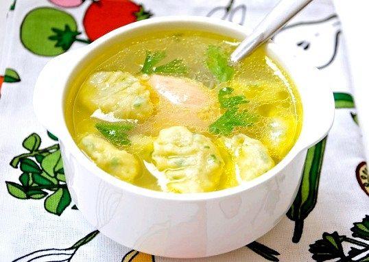 Курячо-овочевої «букетик»
