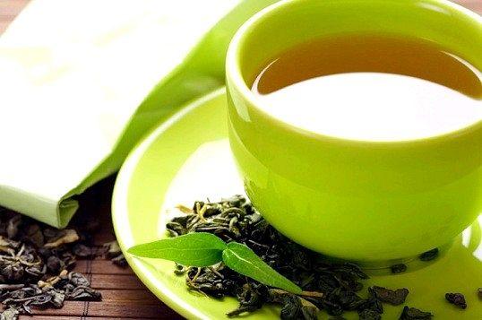Маска для обличчя із зеленого чаю
