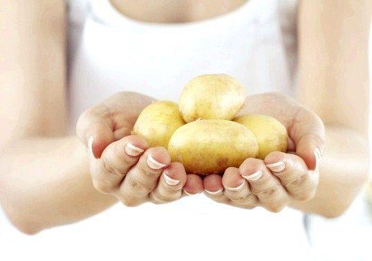 Маски з картопляного крохмалю