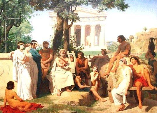 Музи стародавньої греції