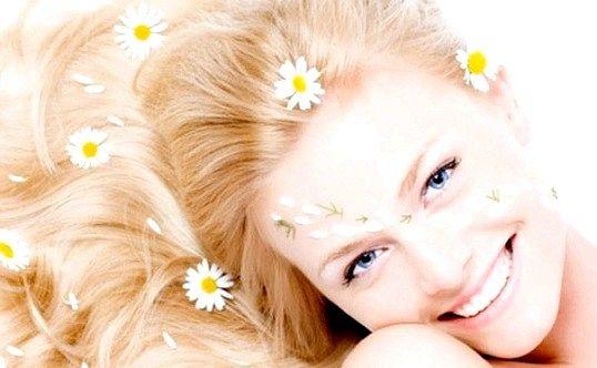 Натуральні освітлюючі засоби для волосся