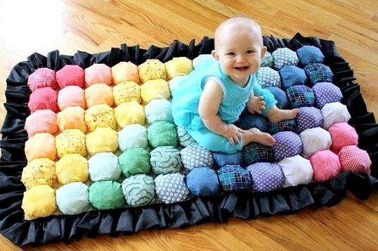 Незвичайний килимок своїми руками