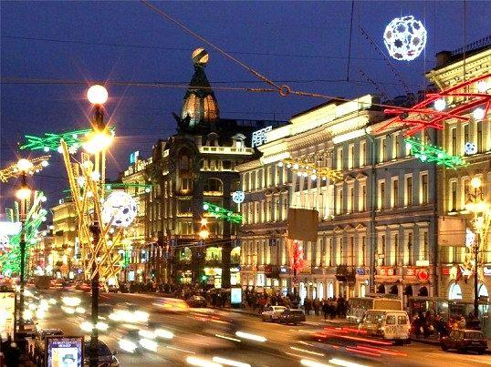 Новий рік в Санкт-Петербурге