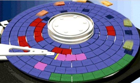 Чи потрібні програми для дефрагментації диска