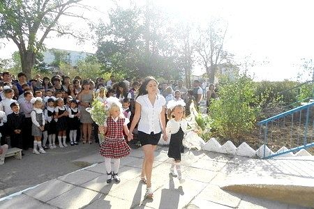 Перші кроки в шкільне життя