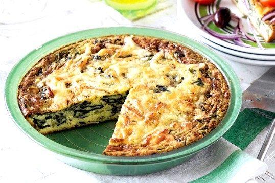 Пиріг з рікоттою і шпинатом