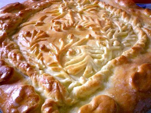 Пиріг зі збірною начинкою