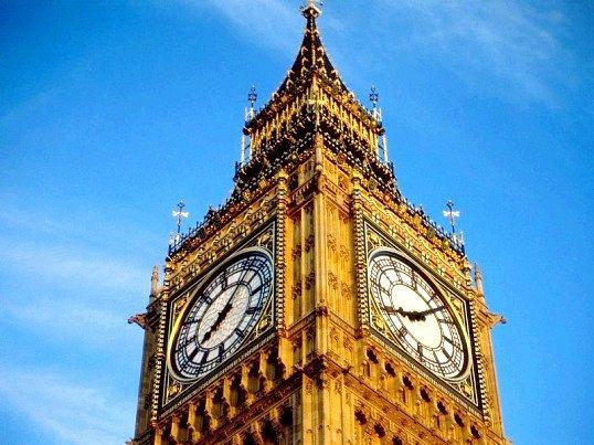 Чому годинник в лондоні називаються