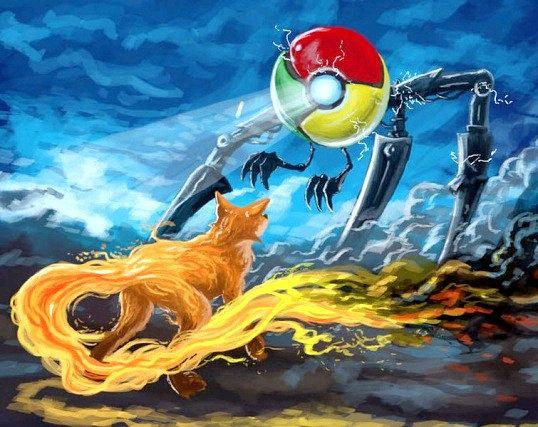 Чому firefox гірше google chrome