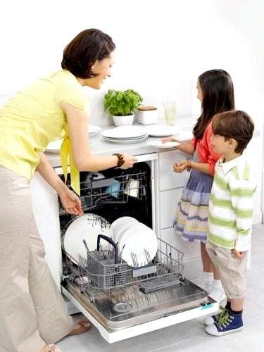 Подарунок до 8 березня - посудомийна машина