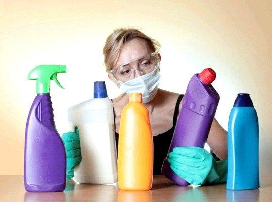 Правила зберігання дезінфікуючих засобів
