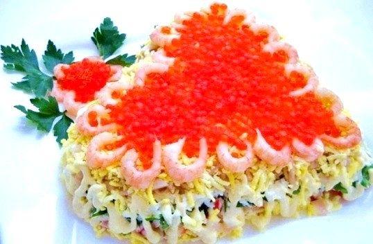 Святковий листковий салат