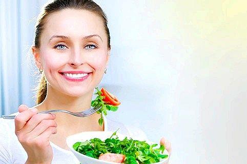 Приклади раціону харчування при схудненні