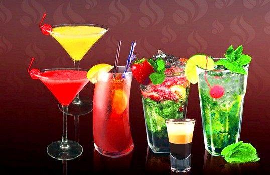Рецепти алкогольних фруктових коктейлів