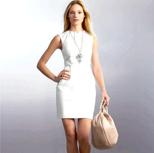 З чим носити білу сукню