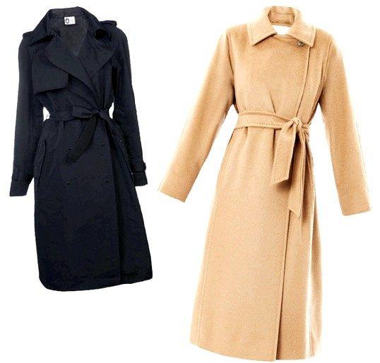 З чим носити пальто із запахом