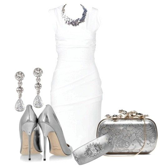 З чим носити срібні туфлі