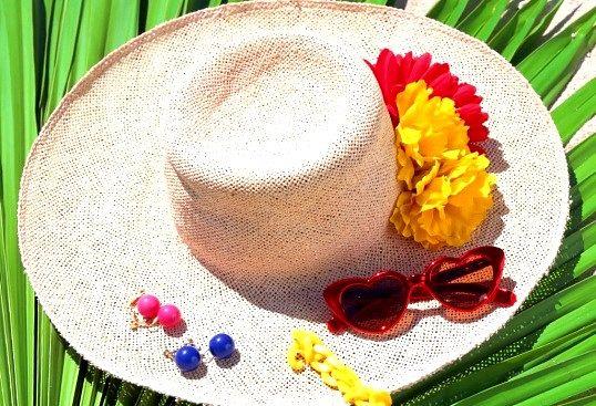 З чим носити солом'яний капелюх
