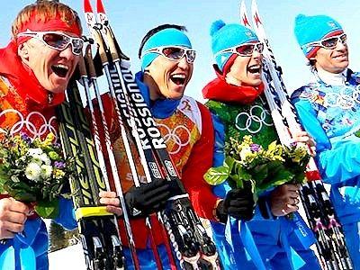 Збірна Росії виграла срібло в лижній естафеті
