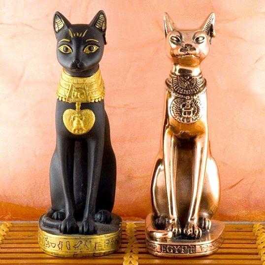 Символом чого вважалася кішка в Єгипті