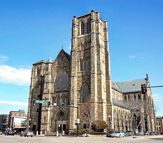 Собор святого хреста в Бостоні: історія будівництва