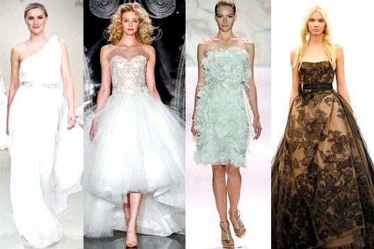 Порада 1: як підбирати весільну сукню і туфлі