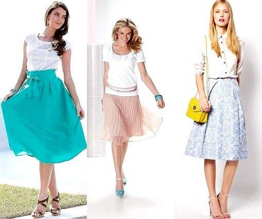 Порада 1: які спідниці в моді