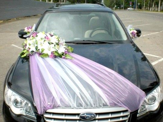Поради молодятам: як прикрасити весільний автомобіль?