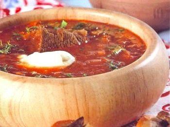 Суп з квашеною капустою