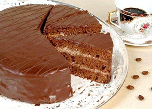 Торт бісквітний «ніжне диво»