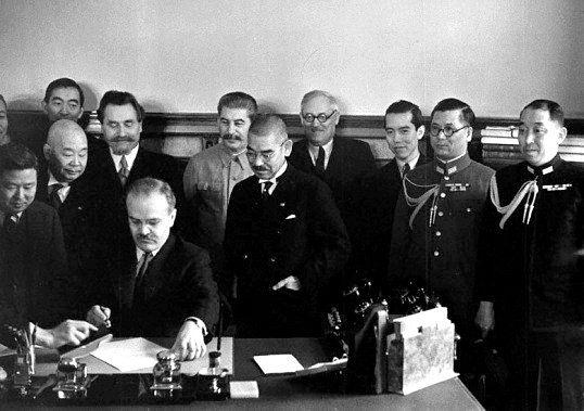 Умови пакту про ненапад від 1939