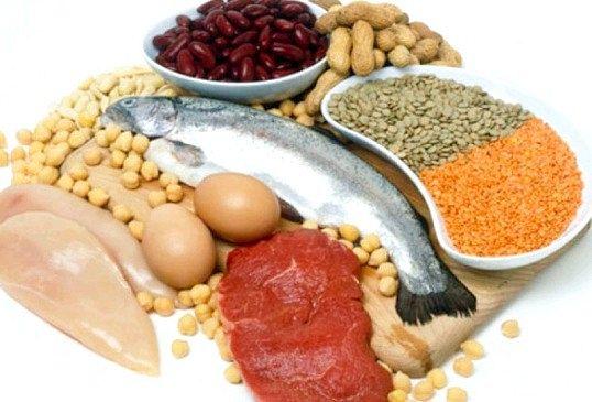 У яких продуктах харчування містяться амінокислоти
