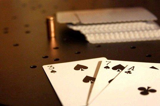 У яку карткову гру грав герман, герой