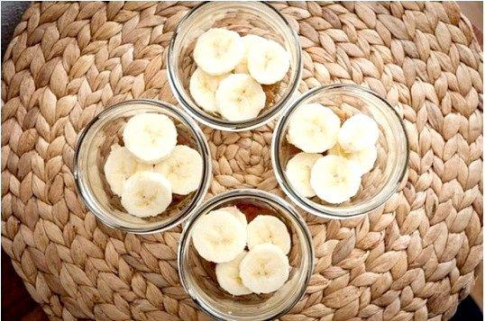 Ванільно - банановий пудинг