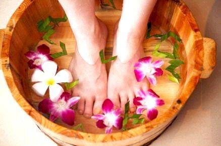 Ванночки для ніг при пітливості