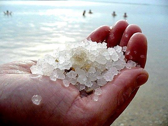 Види солі на землі