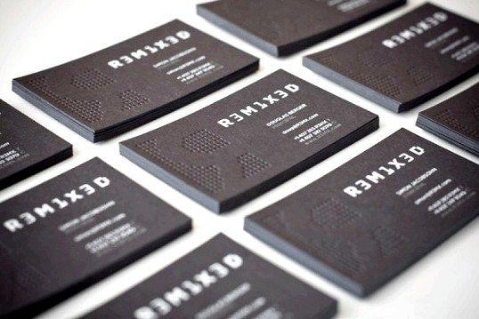 Візитна картка - обличчя фірми: як зробити візитку